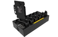 Acoplamiento multibahía de batería con adaptador