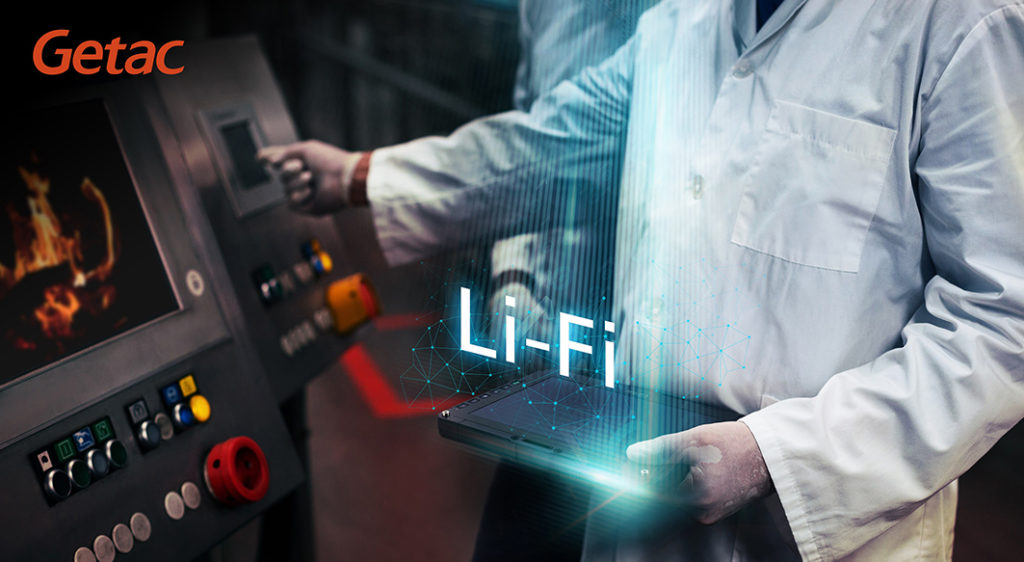 Getac became the world's first manufacturer to bring integrated LiFi technology to the rugged computing market with its industry-leading UX10 fully rugged tablet powered by pureLiFi.