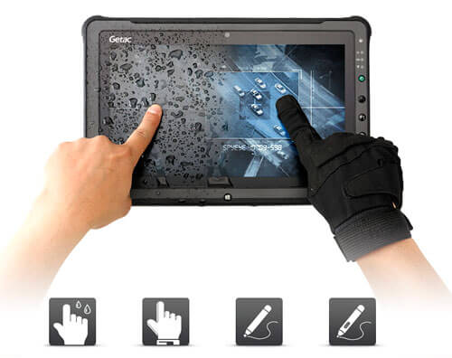 F110 fully rugged tablet with Lumibond 2.0