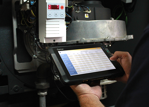 Remica uses Getac T800 rugged tablets to deliver their energy-savings solutions with greater efficiency