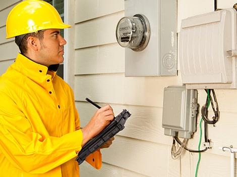 智慧電表讀取及安裝