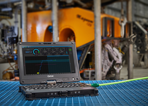 Dart Technologies (DARTT) uses Getac V110 convertible laptops to enhance their digital pressure testing system for oil and gas operations