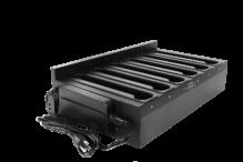 Chargeur de batterie étendu multi-baies avec adaptateur