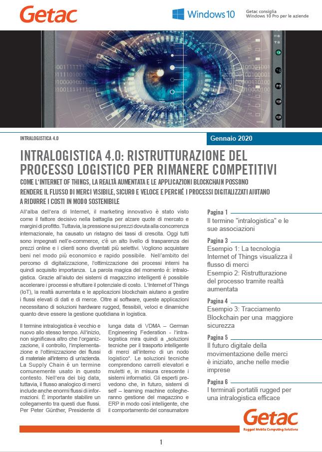 Whitepaper-Intralogistica 4.0