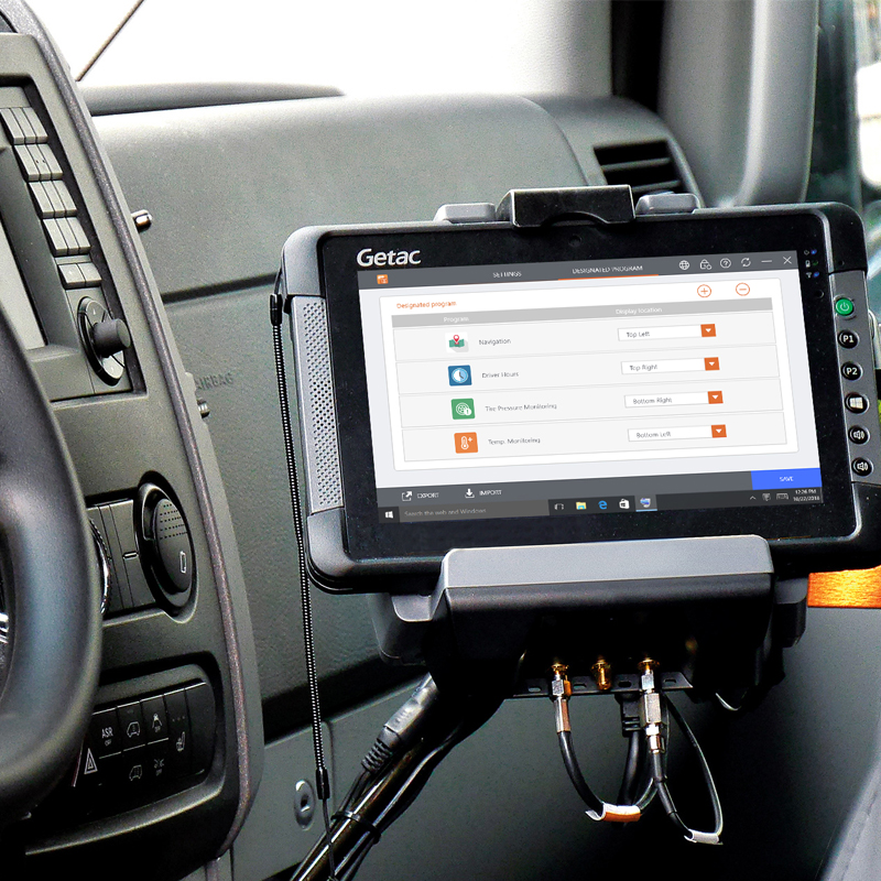 Getac Driving Safety Utility