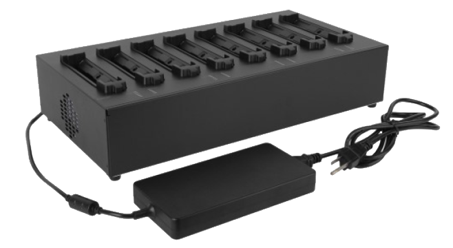MULTI-BAY EXPANDED BATTERY CHARGER 8 Bay-GCEC*B
