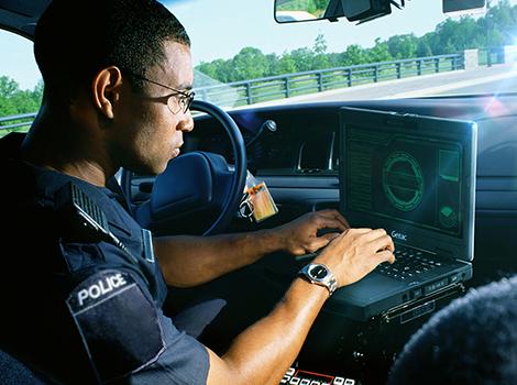 Polizei: Integrierte Fahrzeuglösungen