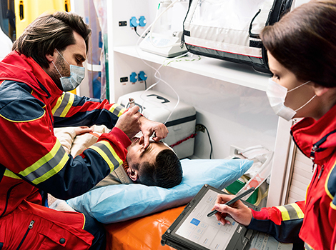 Ambulance: Electronic Patient Care Reporting (ePCR)